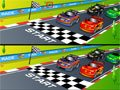 Racing Cartoon Differences