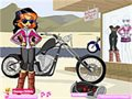 Biker Betty Dressup Spiel